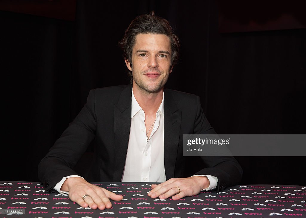 Brandon Flowers Signs Copies Of His New Album 'The Desired Effect'
