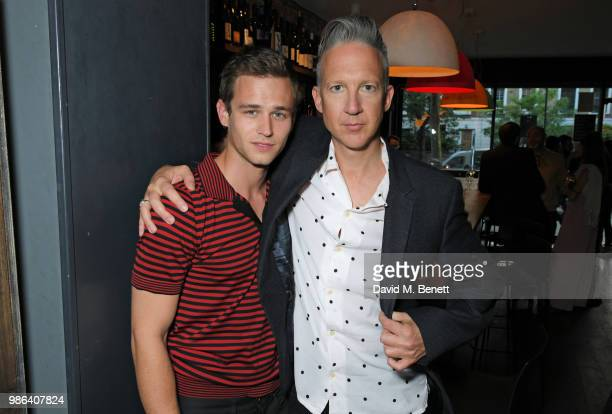 Brandon Flynn and Jefferson Hack attend London dinner to celebrate the Persol SS/18 Good Point Well Made Live Series hosted by Jefferson Hack and...