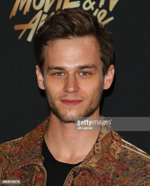 Brandon Flynn attends the 2017 MTV Movie and TV Awards at The Shrine Auditorium on May 7 2017 in Los Angeles California