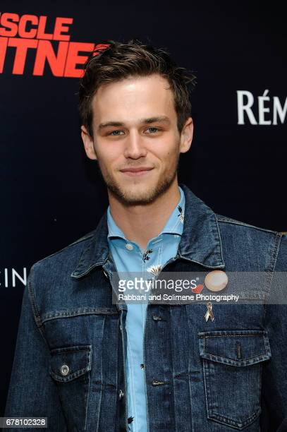 Brandon Flynn attends The Cinema Society Hosts A Screening Of Marvel Studios' 'Guardians Of The Galaxy Vol 2' Arrivals at the Whitby Hotel on May 3...