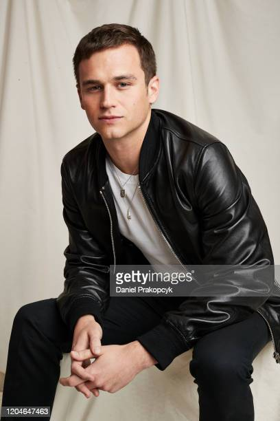 """Brandon Flynn of """"13 Reasons Why"""" poses for a portrait during the Netflix YA Press Day at The London Hotel on February 24, 2020 in West Hollywood,..."""