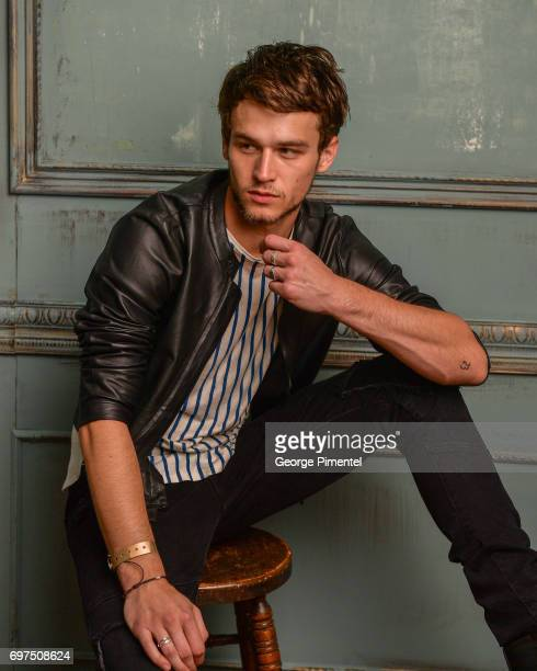 Brandon Flynn poses for a portrait at the 2017 iHeartRADIO MuchMusic Video Awards at MuchMusic HQ on June 18 2017 in Toronto Canada