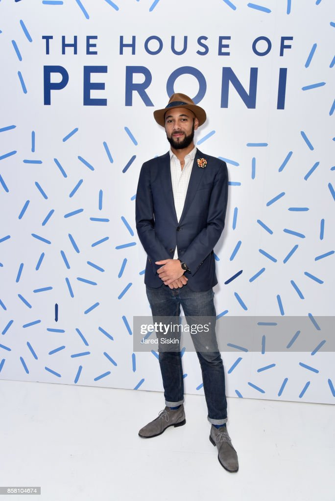 Brandon Franklin attends St. Vincent & Peroni Nastro Azzurro Unveil Second Edition of The House of Peroni House of Peroni on October 5, 2017 in New York City.