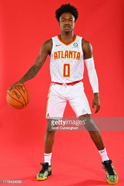 Brandon Goodwin of the Atlanta Hawks poses for a portrait during media day on September 30 2019 at the Emory Sports Medicine Complex in Atlanta...