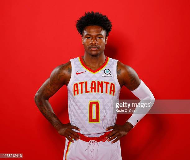 Brandon Goodwin of the Atlanta Hawks poses for portraits during media day at Emory Sports Medicine Complex on September 30 2019 in Atlanta Georgia