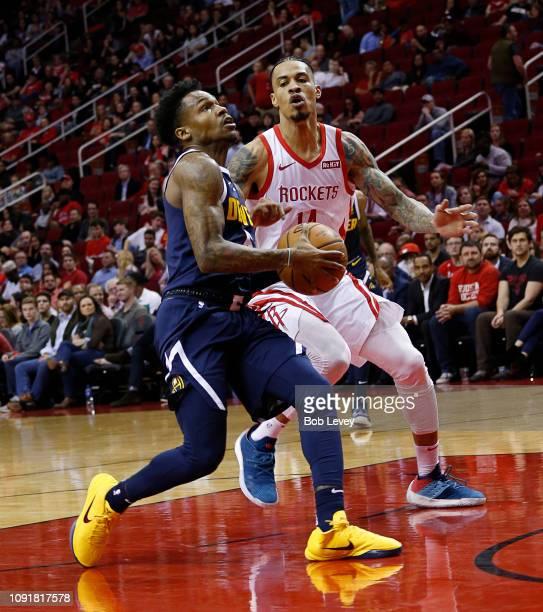 Houston Rockets Vs Denver Nuggets: Brandon Goodwin Fotografías E Imágenes De Stock