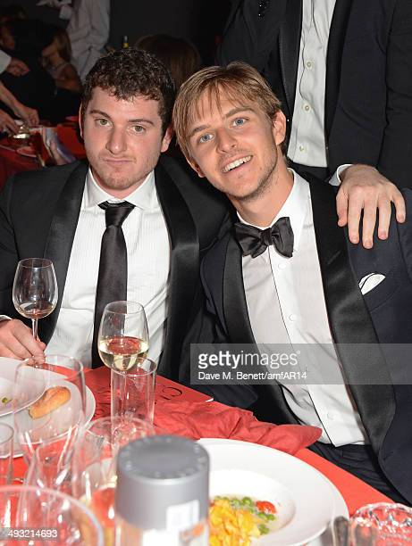 Brandon Green attends amfAR's 21st Cinema Against AIDS Gala presented by WORLDVIEW BOLD FILMS and BVLGARI at Hotel du CapEdenRoc on May 22 2014 in...