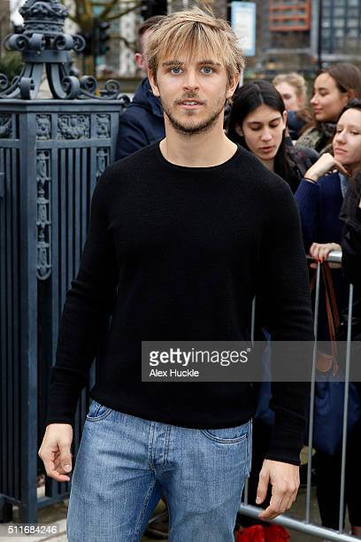 Brandon Green attends the A/W 16 Topshop Unique Catwalk Show at the Tate Britain on February 21 2016 in London England
