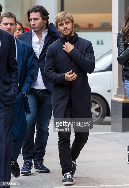 Brandon Green seen outside his hotel on May 2 2016 in New York City