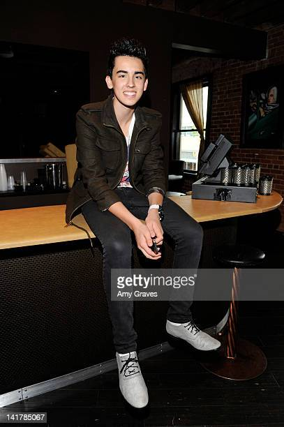 Brandon Hudson attends the Shamrock and Roll Concert for St. Jude Children's Hospital on March 17, 2012 in Los Angeles, California.