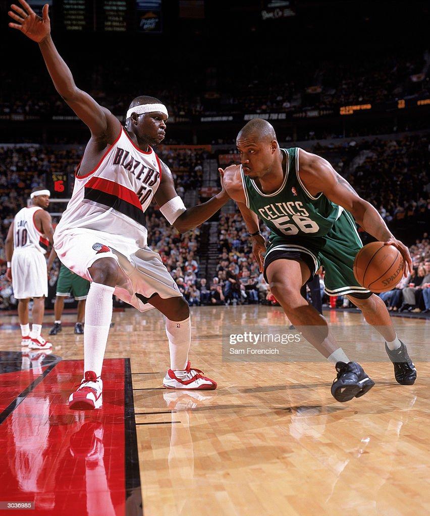 Celtics v Trail Blazers : News Photo