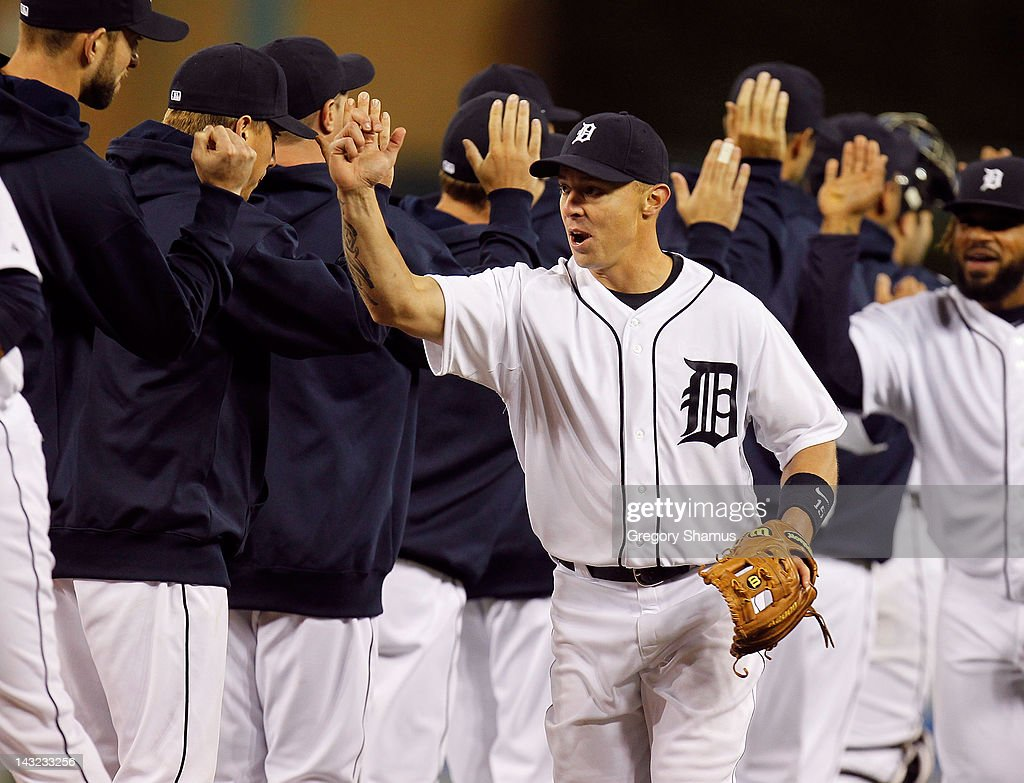 Texas Rangers v Detroit Tigers - Game Two : News Photo
