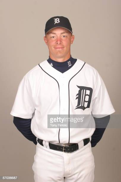 Brandon Inge of the Detroit Tigers during photo day at Marchant Stadium on February 26 2006 in Lakeland Florida