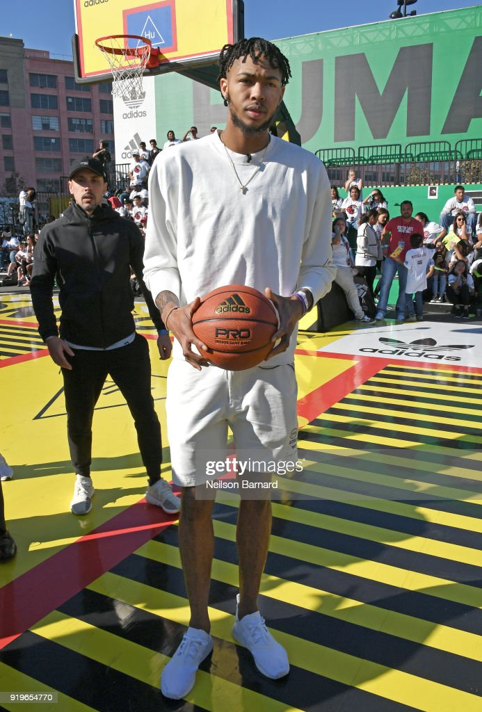 adidas Creates 747 Warehouse St. in Los Angeles - An Event in Basketball Culture : News Photo