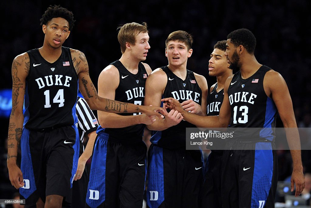 2K Classic - Duke v Georgetown : News Photo