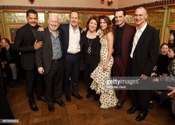 Brandon J Dirden Joe Weisberg John Landgraf Margot Martindale Keri Russell Matthew Rhys and Joel Fields attend 'The Americans' Season 6 Premiere...