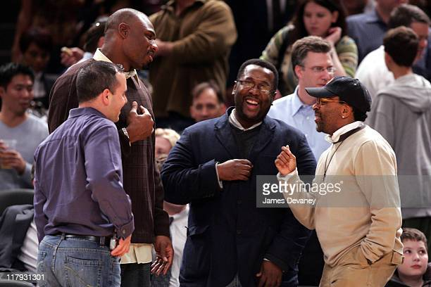 Brandon Jacobs and guest Wendell Pierce and Spike Lee