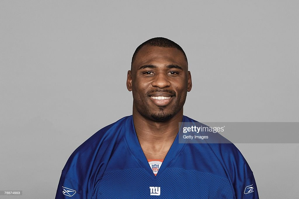 Brandon Jacobs of the New York Giants poses for his 2007 NFL headshot at photo day in East Rutherford, New Jersey.