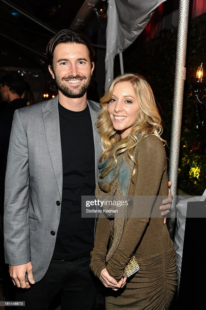 Brandon Jenner and Leah Jenner attend Red Light Management Grammy After Party at Mondrian Los Angeles on February 10, 2013 in West Hollywood, California.