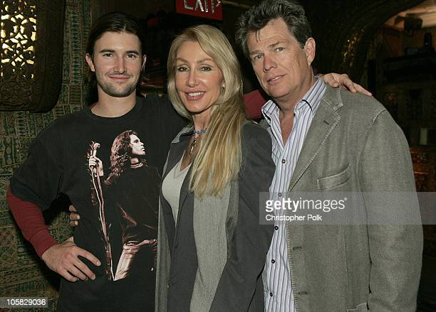 Brandon Jenner Linda Thompson and David Foster during Words and Music in Honor of 'Fahrenheit 9/11' at House of Blues in Hollywood California United...