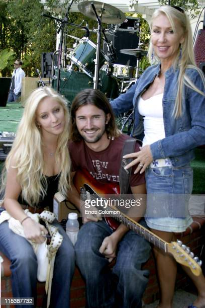Brandon Jenner of the band Big Dume with mom Linda Thompson and girlfriend Leah Felder