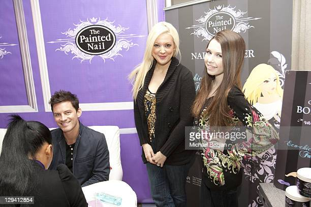 Brandon Johnson, Katie Cazorla, and Saige Ryan Campbell at The Studio At HAVEN360 - Day 2 on February 26, 2011 in West Hollywood, California.