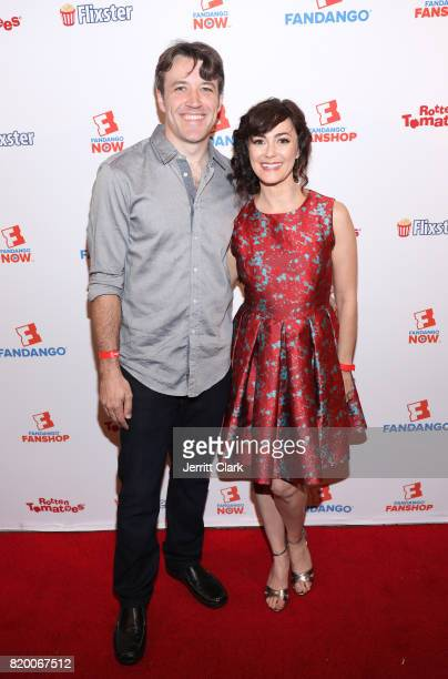 Brandon Jones and Amanda Troop attend ComicCon International 2017 Fandango Opening Night Party With Special Performance By Elle King Arrivals at San...