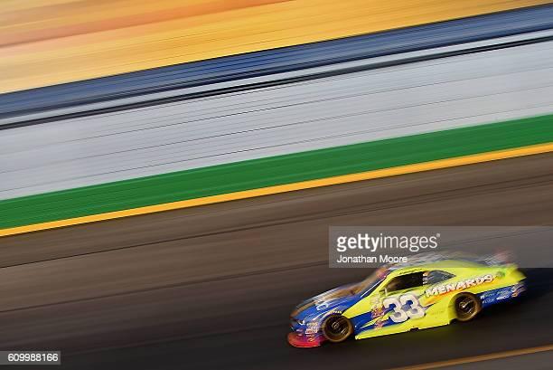 Brandon Jones driver of the Nibco / Menards Chevrolet on track during practice for the NASCAR XFINITY Series VysitMyrtleBeachcom 300 at Kentucky...