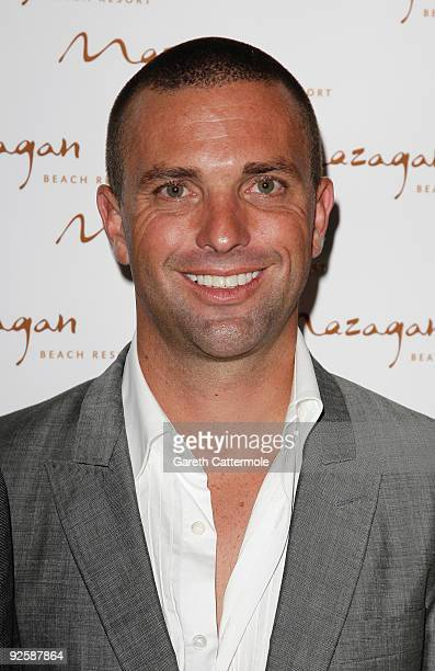 Brandon Kerzner arrives for the grand opening night of the Kerzner Mazagan Beach Resort on October 31, 2009 in El Jadida, Morocco. 1,500 guest guests...