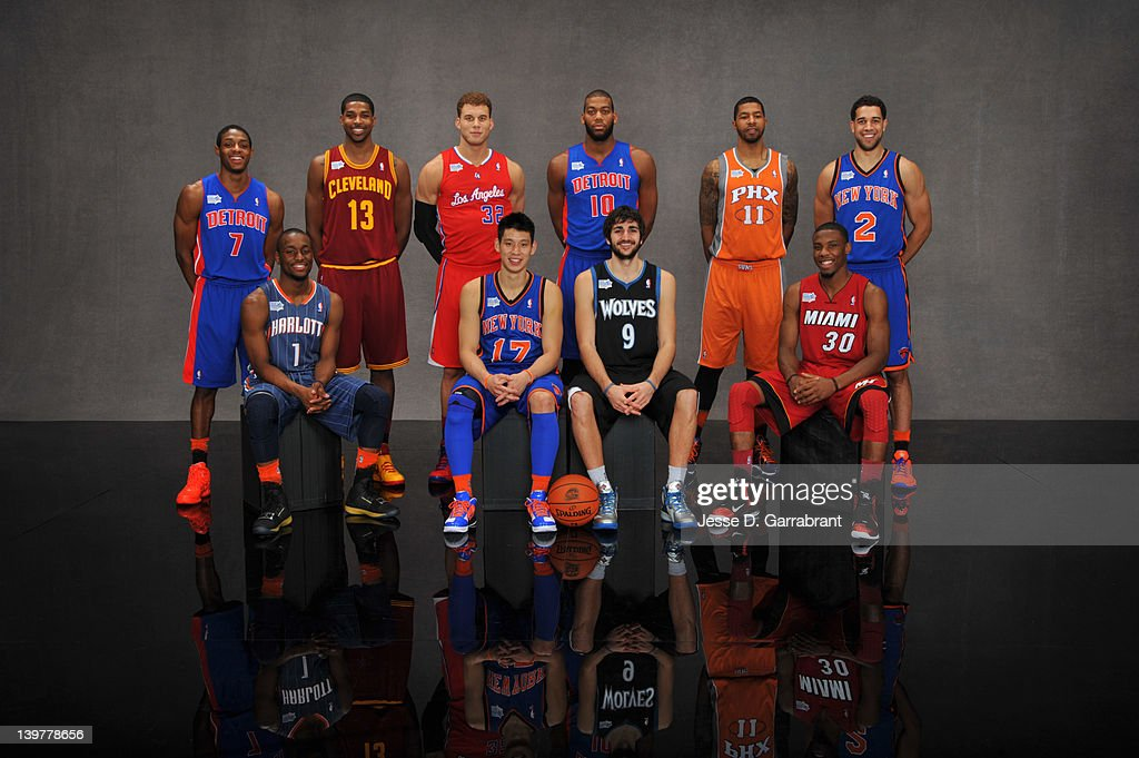 All-Star Portraits 2012