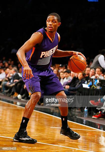 Brandon Knight of the Phoenix Suns in action against the Brooklyn Nets at Barclays Center on March 6 2015 in the Brooklyn borough of New York City...