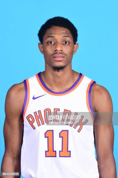 Brandon Knight of the Phoenix Suns poses for a head shot during media day on September 25 2017 at the Talking Stick Resort Arena in Phoenix Arizona...