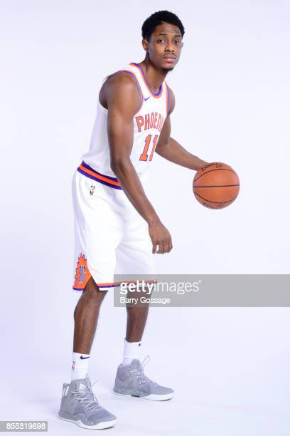 Brandon Knight of the Phoenix Suns poses for a portrait at the Talking Stick Resort Arena in Phoenix Arizona NOTE TO USER User expressly acknowledges...