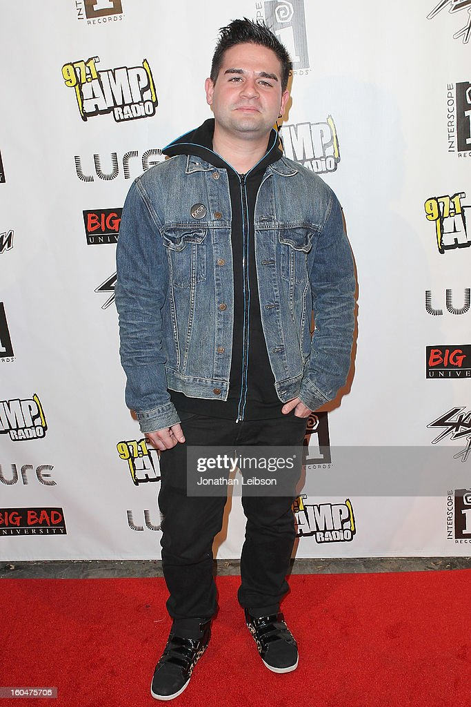 Brandon Koppel at the SkyBlu 'Pop Bottles' Single Release Party at Lure on January 31, 2013 in Hollywood, California.