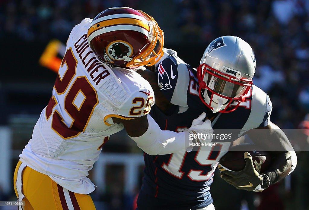 Washington Redskins v New England Patriots : News Photo