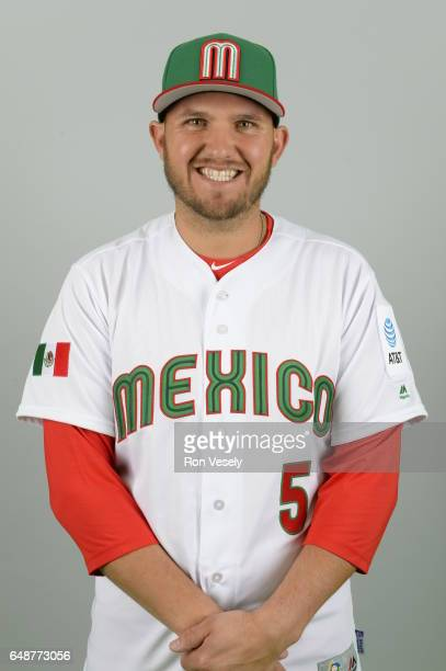 Brandon Laird of Team Mexico poses for a headshot for Pool D of the 2017 World Baseball Classic on Monday March 6 2017 at the Peoria Sports Complex...