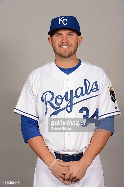 Brandon Laird of the Kansas City Royals poses during Photo Day on Monday February 24 2014 at Surprise Stadium in Surprise Arizona