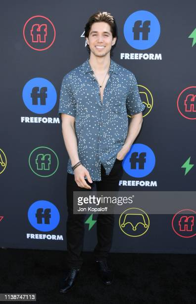 Brandon Larracuente attends 2nd Annual Freeform Summit at Goya Studios on March 27 2019 in Los Angeles California