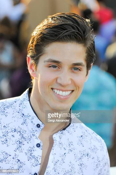 Brandon Larracuente attends Paramount Pictures' World Premiere of 'Baywatch'on May 13 2017 in Miami Beach Florida