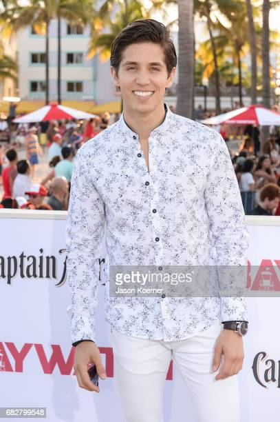 Brandon Larracuente attends Paramount Pictures' World Premiere of 'Baywatch' on May 13 2017 in Miami Florida