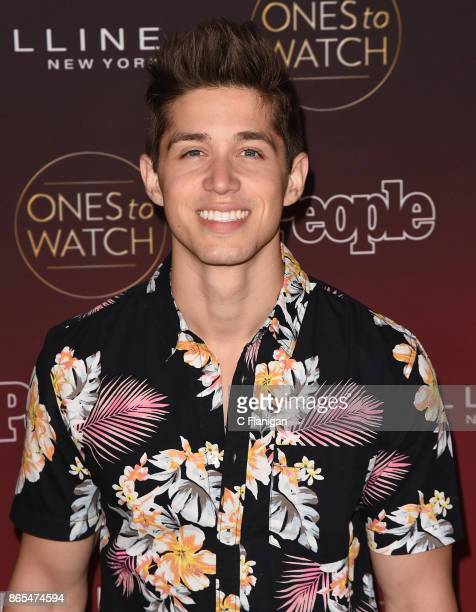 Brandon Larracuente attends People's 'Ones to Watch' at NeueHouse Hollywood on October 4 2017 in Los Angeles California
