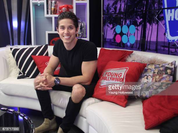 Brandon Larracuente visits the Young Hollywood Studio on April 19 2017 in Los Angeles California