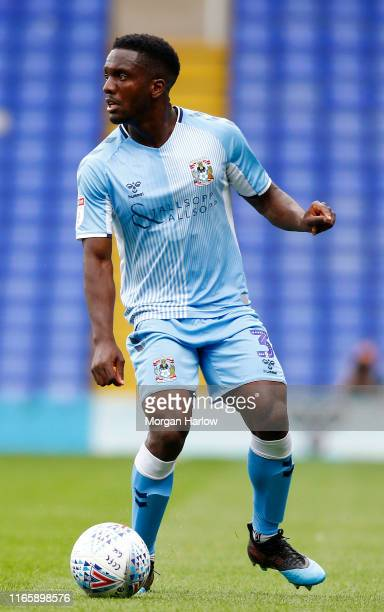Brandon Mason of Coventry City in action during the Sky Bet League One match between Coventry City and Southend United at St Andrew's Trillion Trophy...