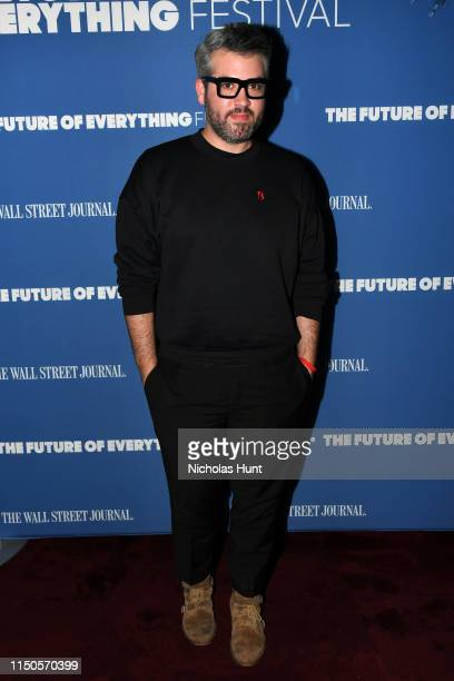 Brandon Maxwell attends The Wall Street Journal's Future Of Everything Festival at Spring Studios on May 20 2019 in New York City