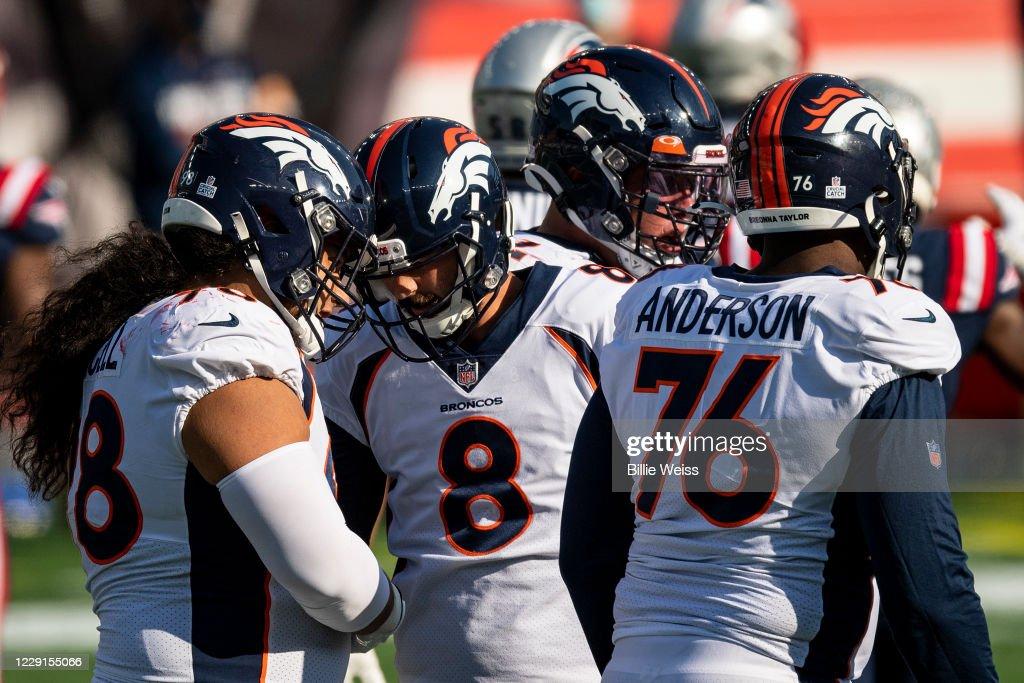 Denver Broncos v New England Patriots : ニュース写真