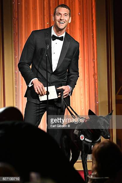 Brandon McMillan presents the Emmy for Outstanding Younger Actress in a Drama Series at the 43rd Annual Daytime Emmy Awards at the Westin Bonaventure...