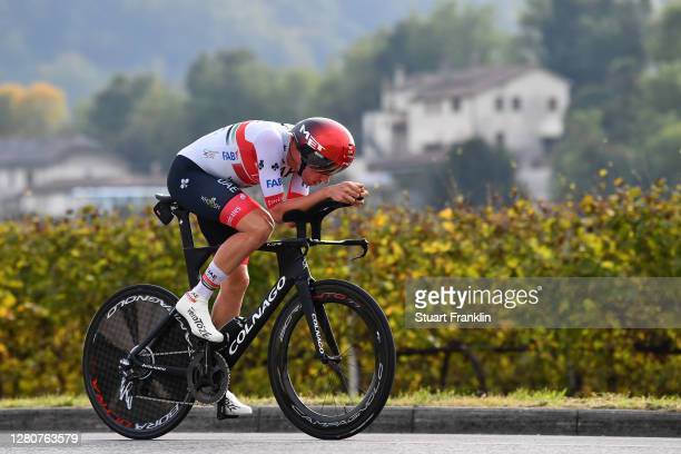 Brandon Mcnulty of The United States and UAE Team Emirates / during the 103rd Giro d'Italia 2020, Stage 14 a 34,1km individual Time Trial from...