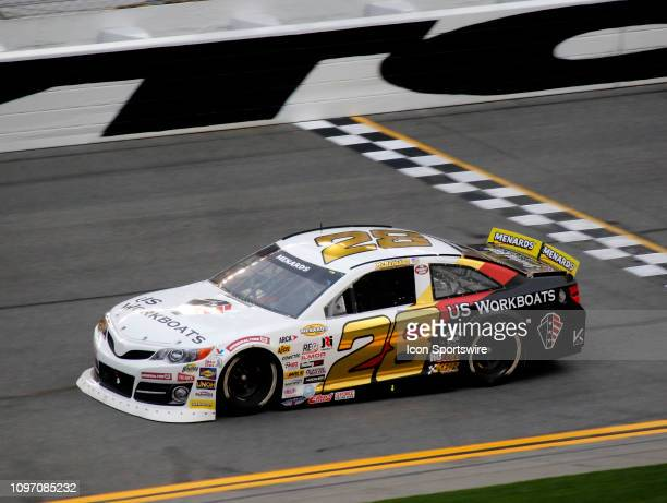 Brandon McReynolds KBR Development Toyota during the running of the Lucas Oil 200 on February 9 2019 at Daytona International Speedway in Daytona...