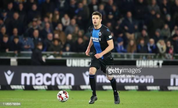 Brandon Mechele of Club Brugge in action during the Jupiler Pro League match between Club Brugge and KV Oostende at Jan Breydel Stadium on November...