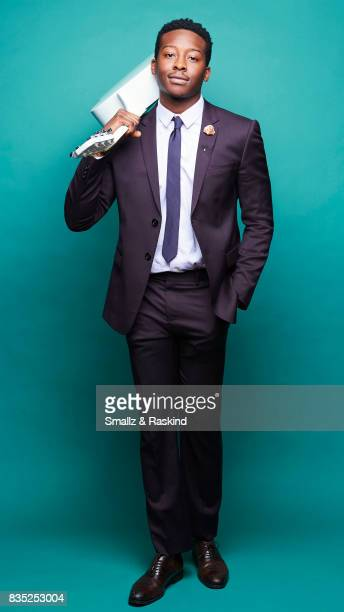 Brandon Michael Hall of Turner Networks 'TBS/Search Party' poses for a portrait during the 2017 Summer Television Critics Association Press Tour at...